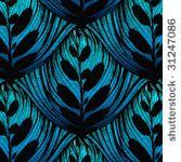 vector openworked leaf background. beautiful seamless pattern