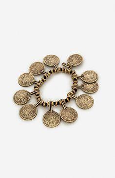 Vanessa Mooney La Vida Boheme Bracelet in Brass | DAILYLOOK