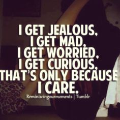 So true life has just changed for me people I care that's right people i care!