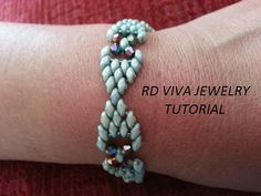 Tutorial Santa Fe Bracelet by RDVIVAJEWELRY on Etsy.