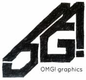 OMG! graphics - Logo Design.