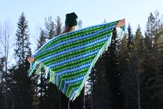 Ravelry: Nomad by Fate - triangle wrap pattern by Martin Up North