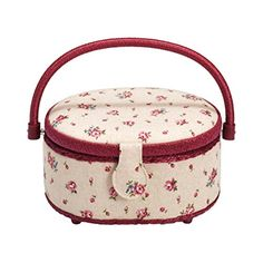 612139 Nähkorb Country Rose S Prym | Sewing basket country rose