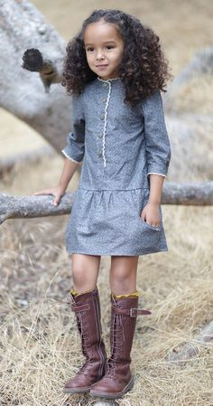 Blu Pony Vintage | Timeless clothing inspired by garments from the 1920's -1940's. A children's fashion house providing girls dresses and finely made boys attire.