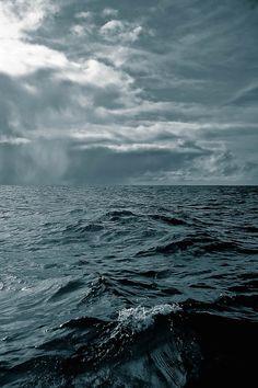 Sky and sea by Raquel Palacios