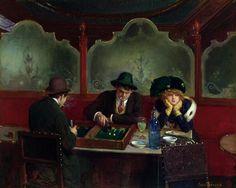 Jean_Beraud_Joueurs de Backgammon