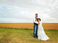 Bride Spends 8 Months and $70 Making her own #Crochet #Wedding Gown
