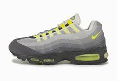 Die Anatomie von Nike Air: 20 Jahre Air Max 95,  #airmax #AirMax95 #nike #sneaker, #agpos, #sneaker, #sneakers, #sneakerhead, #solecollector, #sneakerfreaker,  #nicekicks, #kicks, #kotd, #kicks4eva #kicks0l0gy, #kicksonfire, #womft, #walklikeus