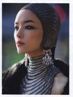 Vogue Paris  October 2011  Hans Feurer- Fei Fei Sun