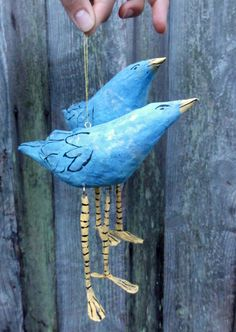 paper mache...with hinged legs, AN IDEA TO HELP W/ OTHER THINGS