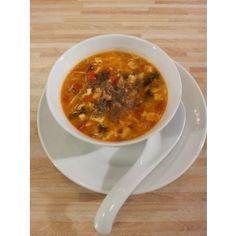 Peking Suppe - sauer-scharf-Suppe