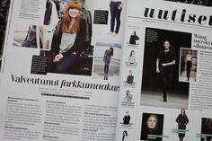 Nurmi-merkki muotilehti Costumessa helmikuussa 2013.
