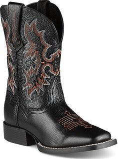 68a0c2e03f7689 Ariat 10007845 - Youth Tombstone Kids Western Boots
