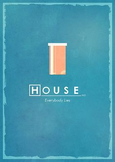 Really cool minimalist poster for 'House'