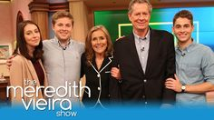 Meredith's Family Surprises Her | The Meredith Vieira Show
