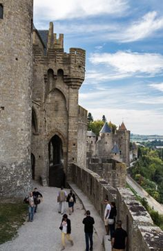 Carcassonne, medieval city, UNESCO - South of France