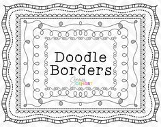 60 OFF Clipart Doodle Borders and Frames by SonyaDeHartDesign  https://www.etsy.com/listing/195769977/60-off-clipart-doodle-borders-and-frames?ref=shop_home_active_5