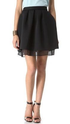 Neoprene & Mesh Skirt