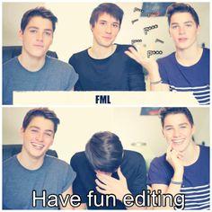 Danisnotonfire w/ twins Jack and Finn