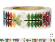Masking Tape - Washi Tape BLUMEN - ein Designerstück von Fitzi-Floet bei DaWanda