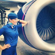 Azul Airlines Stewardess