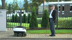 How do Starship Technologies' delivery robots work? This little video explains.