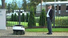 Starship, un nuevo robot autónomo que reparte pedidos a domicilio