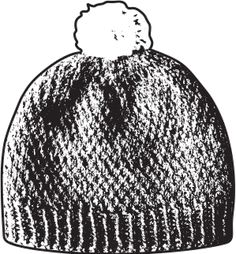 Neulo oma villapipo - Partioaitta Knitted Hats, Beanie, Knitting, Fashion, Moda, Tricot, Fashion Styles, Breien, Stricken