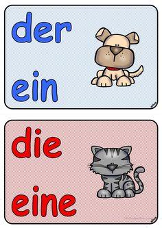 Artikel _ Tiere als Merkhilfe _ Poster (A5)