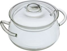 Borosilicate Glass Cookware Pot with Lid | 1.5 Quart | Made in Vermont