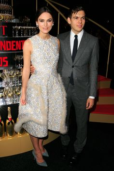 British Independent Film Awards 2014: Keira Knightley and James Righton