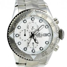 Stainless steel case with a stainless steel bracelet. Uni-directional  rotating bezel. Silver 6accc261d7