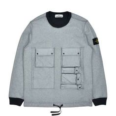 The hooded jacket from Stone Island is made of a lightweight, three-layer functional fabric, which consists of an outer layer of opaque nylon, whic. Sweatshirts Online, Hooded Sweatshirts, Stone Island Jacket, Berlin, Cargo Shirts, Stone Island Shadow Project, Fishtail Parka, Field Jacket, Black Denim