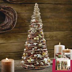 Ihr möchtet Inspiration für eure Weihnachtsdeko? Dafür gibt's uns. :-) Wie wäre es mit diesem Silbertännchen? Alles was ihr dazu braucht und wie's funktioniert findet ihr in unserer Drahtwerkstatt.