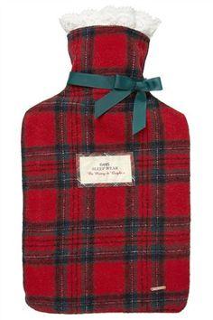 Tartan Hot water bottle