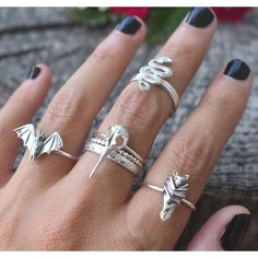 Pick and Mix Silver Rings Handmade, Handmade Jewelry, Baby Bats, Fall Baby, Lab Diamonds, Gems Jewelry, Stacking Rings, Wedding Ring Bands, Luxury Jewelry
