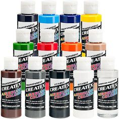 Fast Deliver Createx Colors Paint For Airbrush Pearl White 8 Oz