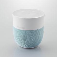 Details we like / Speaker / Fabric / Green / Glossy White / elecom / Consumer electronics / at leManoosh : Photo