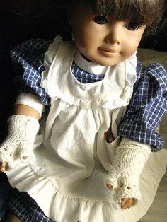 Fingering Ravelry: Samantha Doll Mitts pattern by Wendy Poush