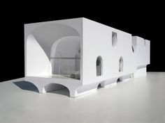 Johnston Marklee model for Vault House