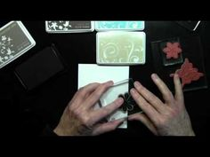 Shari Carroll shows you a quick and easy stamp layering technique. Visit www.heroarts.com for more inspiration and ideas.