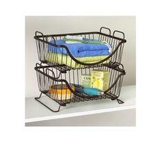 Stackable Dorm Basket Tray Dorm Room Organization Dorm Essentials