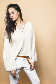 White Jeans, Blouse, Long Sleeve, Party, Clothing, Sleeves, Tops, Women, Fashion