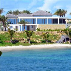 Luxury Home For Sale Overlooking Private Beach, Willoughby Bay, Antigua    Http:/. Beachfront Homes For SaleBeachfront RentalsCaribbean ...
