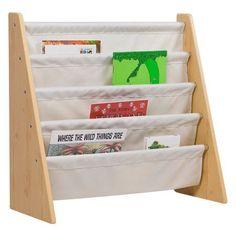 Levels of Discovery Sling Book Shelf, Natural with Tan, Beige