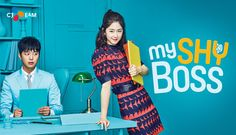 My Shy Boss starring Yeon Woo Jin, Park Hye Soo and Yoon Park. Super cute and funny drama. And a great mystery hidden under all that. Gong Seung Yeon, Yeon Woo Jin, My Shy Boss Kdrama, Park Hye Soo, Live Action, Ye Ji Won, Introverted Boss, Korean Drama 2017, Korean Dramas