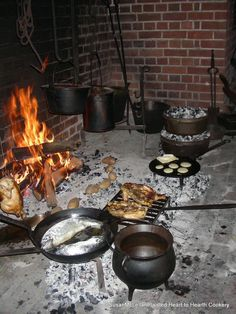 Gridirons, Bake Kettles and more: A Hearth Cooking Adventure – Bites of Food History