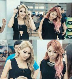 2NE1    Maknae Line Beauties ^^