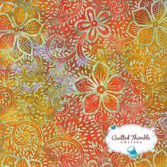 Breezy Batiks by Moda Fabrics  Citrus 4323-11  1 Yard