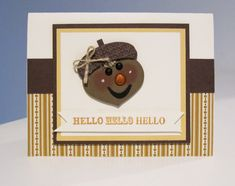 Stampin Up Punch Art Acorn